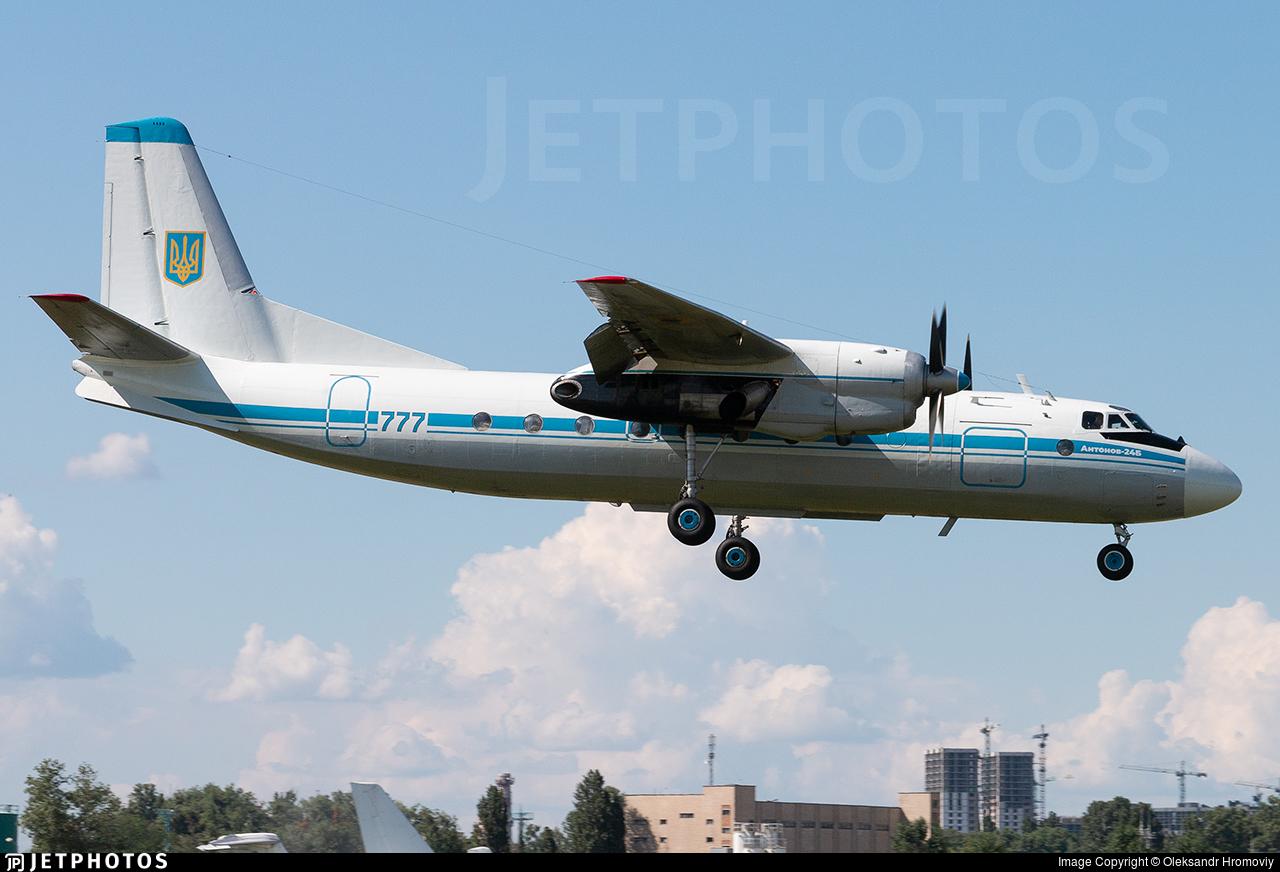 777 - Antonov An-24B - Ukraine - Air Force