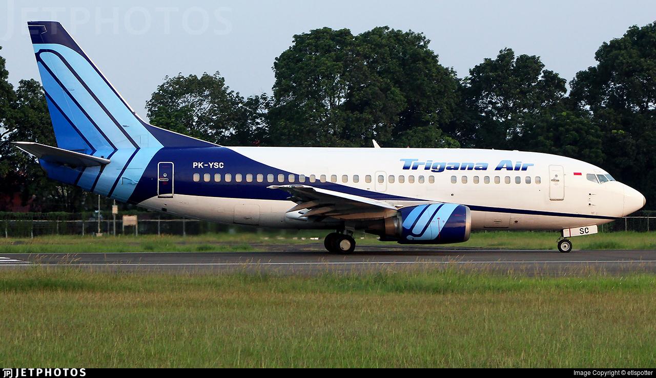 PK-YSC - Boeing 737-59D - Trigana Air Service