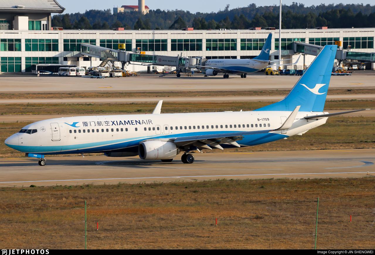 B-1709 - Boeing 737-85C - Xiamen Airlines