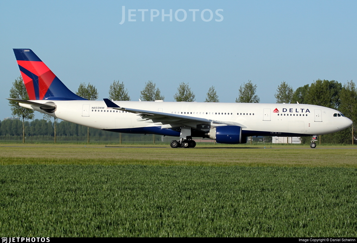 N855NW - Airbus A330-223 - Delta Air Lines