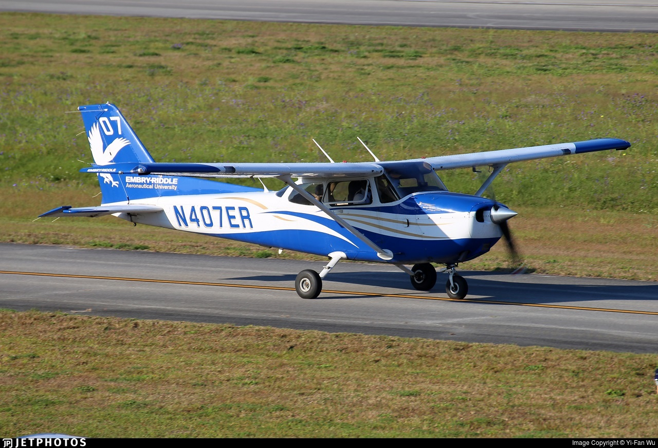 N407ER - Cessna 172S Skyhawk SP - Embry-Riddle Aeronautical University (ERAU)