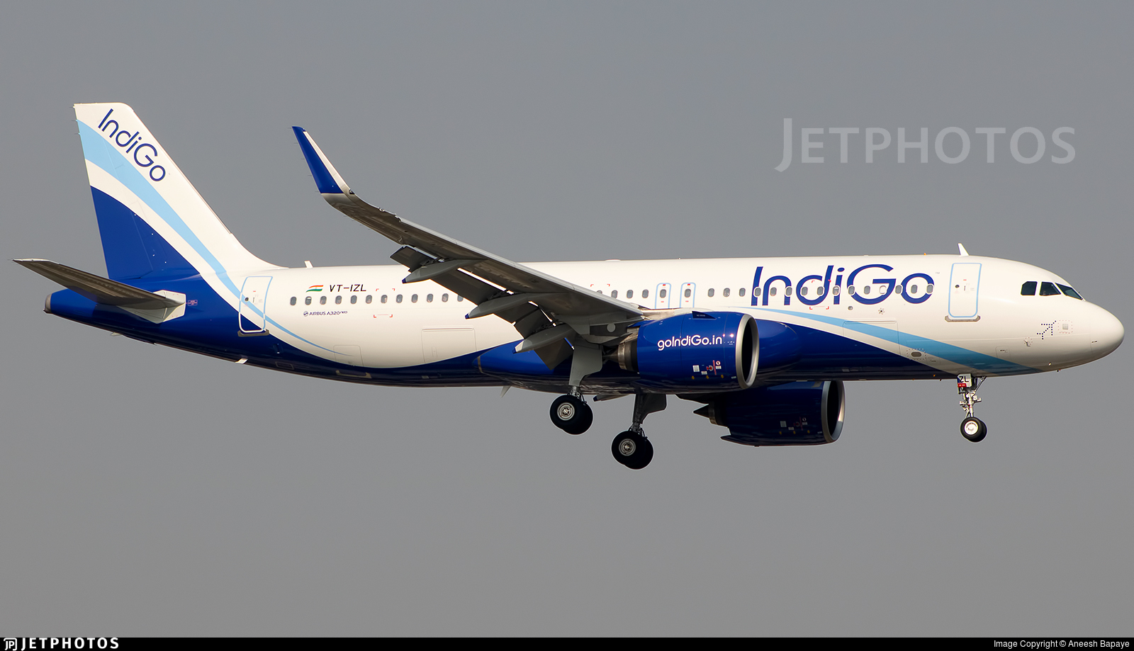 VT-IZL - Airbus A320-271N - IndiGo Airlines