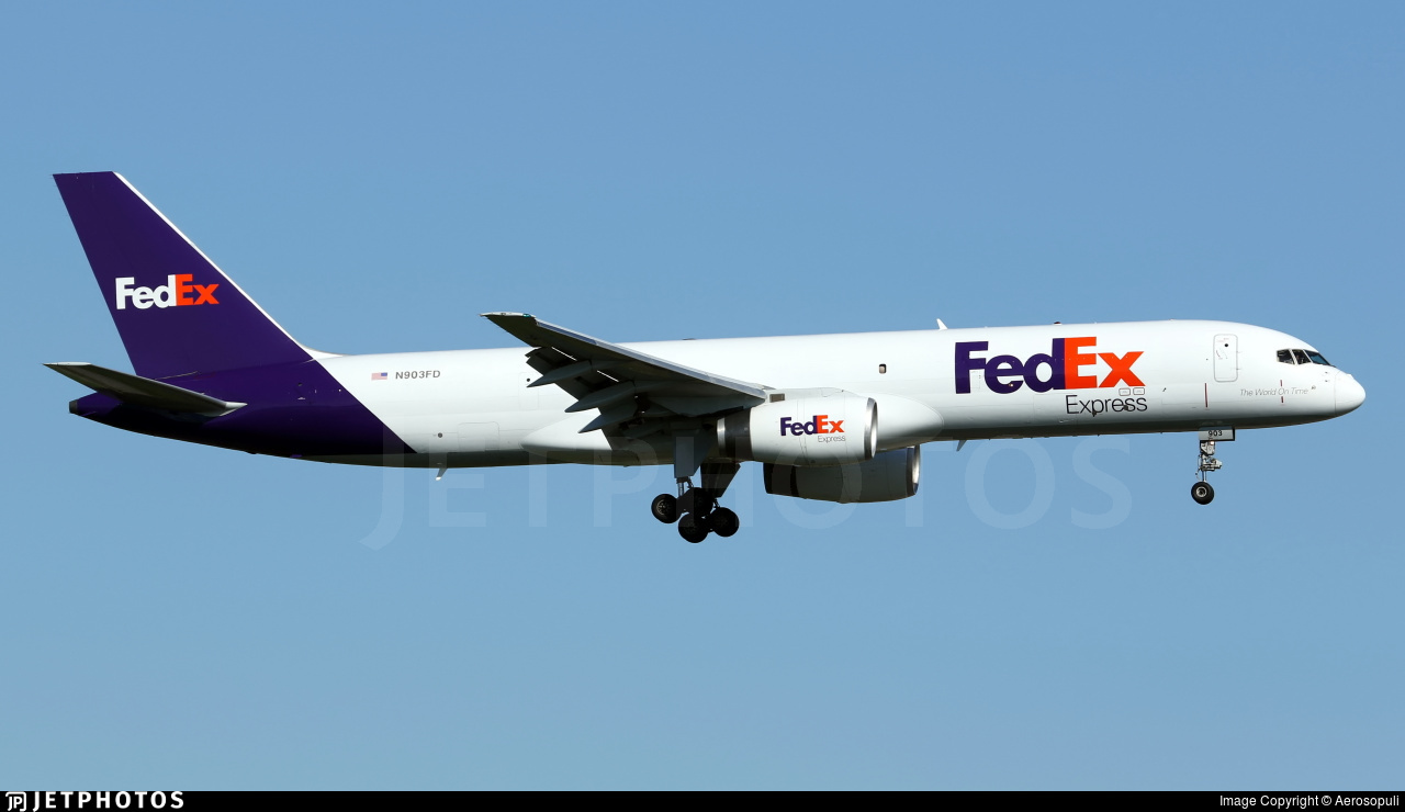 N903FD - Boeing 757-2B7(SF) - FedEx