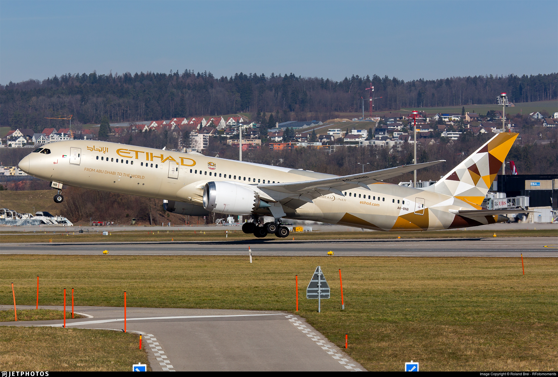 A6-BNB - Boeing 787-9 Dreamliner - Etihad Airways