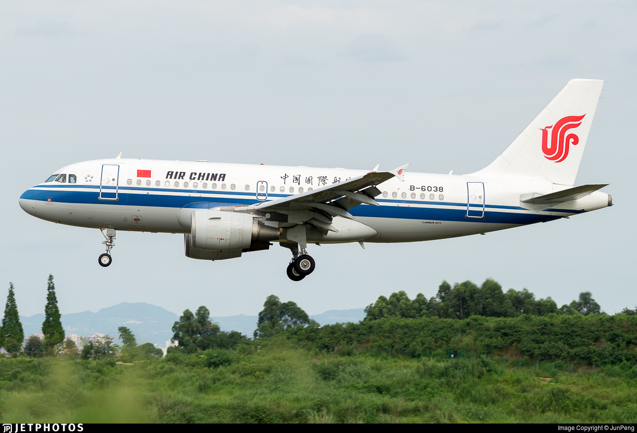 B-6038 - Airbus A319-115 - Air China
