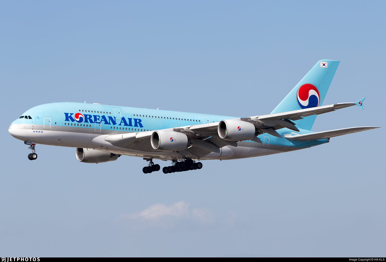 HL7628 - Airbus A380-861 - Korean Air