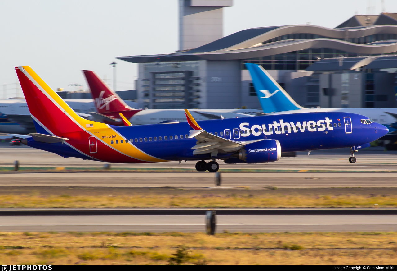 N8729H - Boeing 737-8 MAX - Southwest Airlines