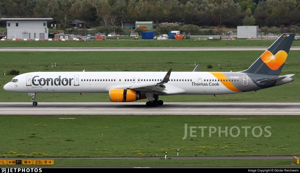D-ABOP - Boeing 757-3CQ - Condor