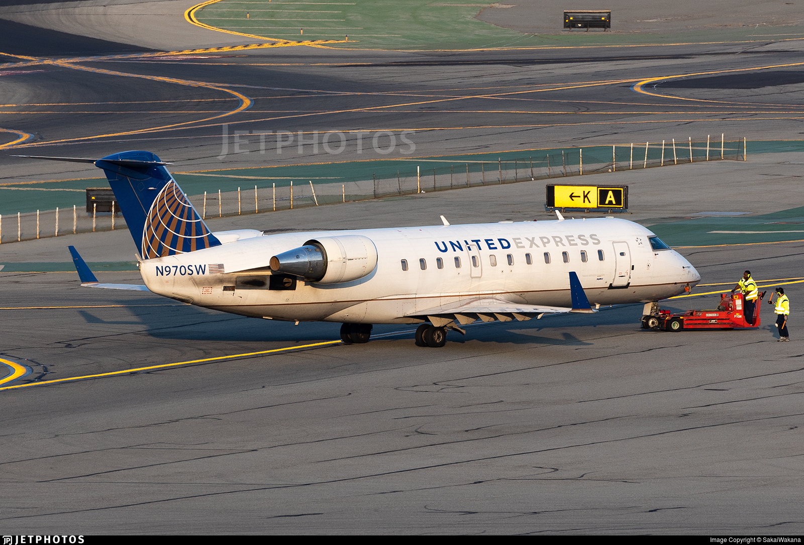 N970SW - Bombardier CRJ-200ER - United Express (SkyWest Airlines)