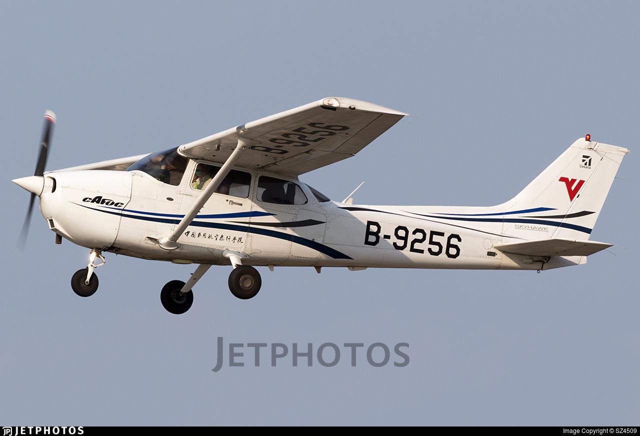 B-9256 - Cessna 172R Skyhawk - Civil Aviation Flight University of China