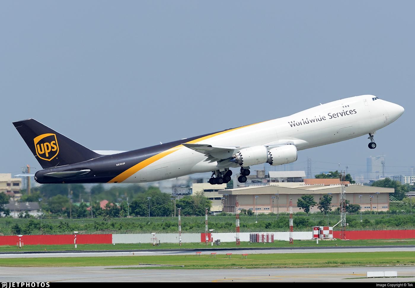 N610UP - Boeing 747-84AF - United Parcel Service (UPS)