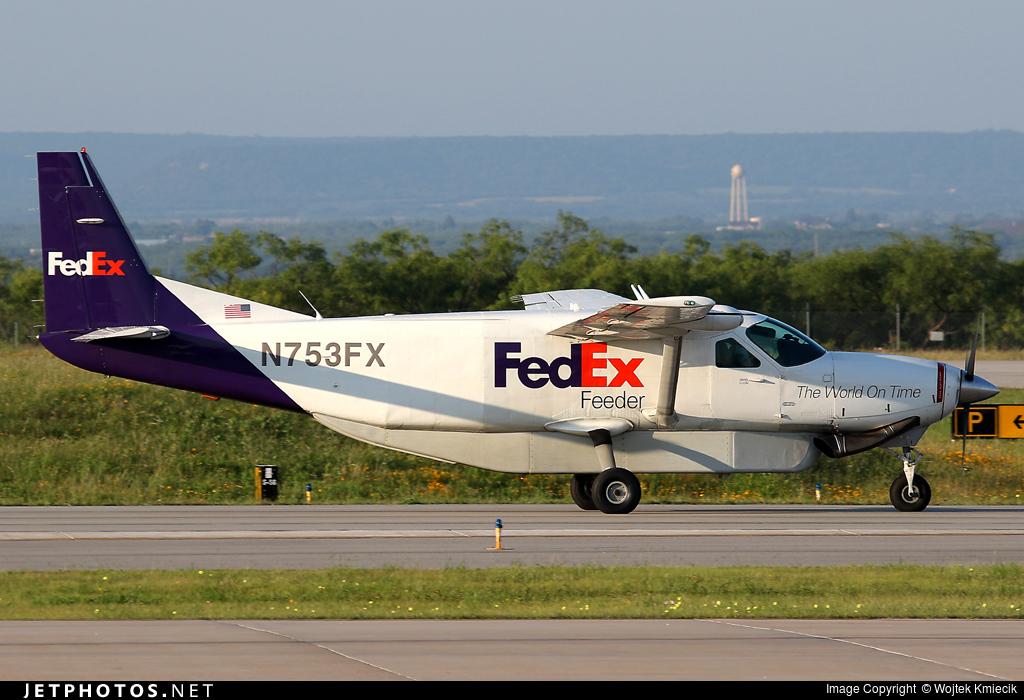 N753FX - Cessna 208B Super Cargomaster - FedEx Feeder (Baron Aviation Services)