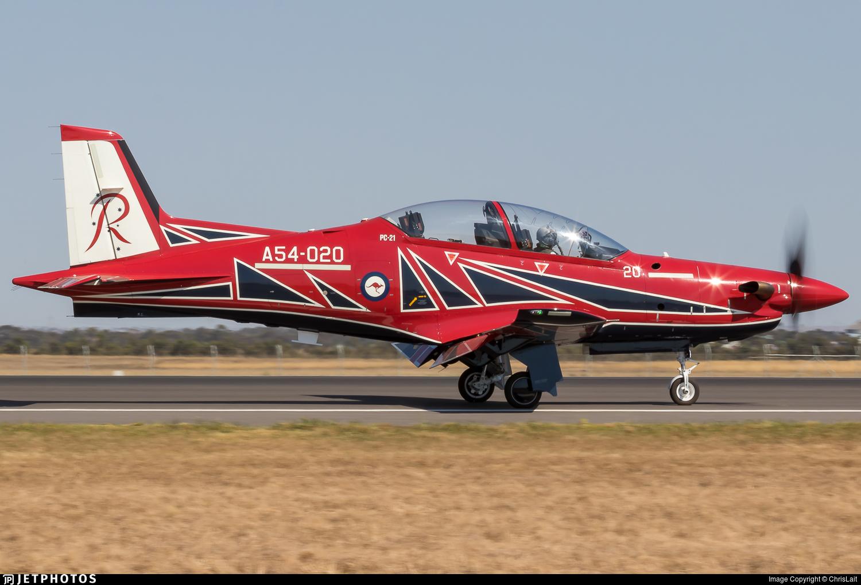 A54-020 - Pilatus PC-21 - Australia - Royal Australian Air Force (RAAF)
