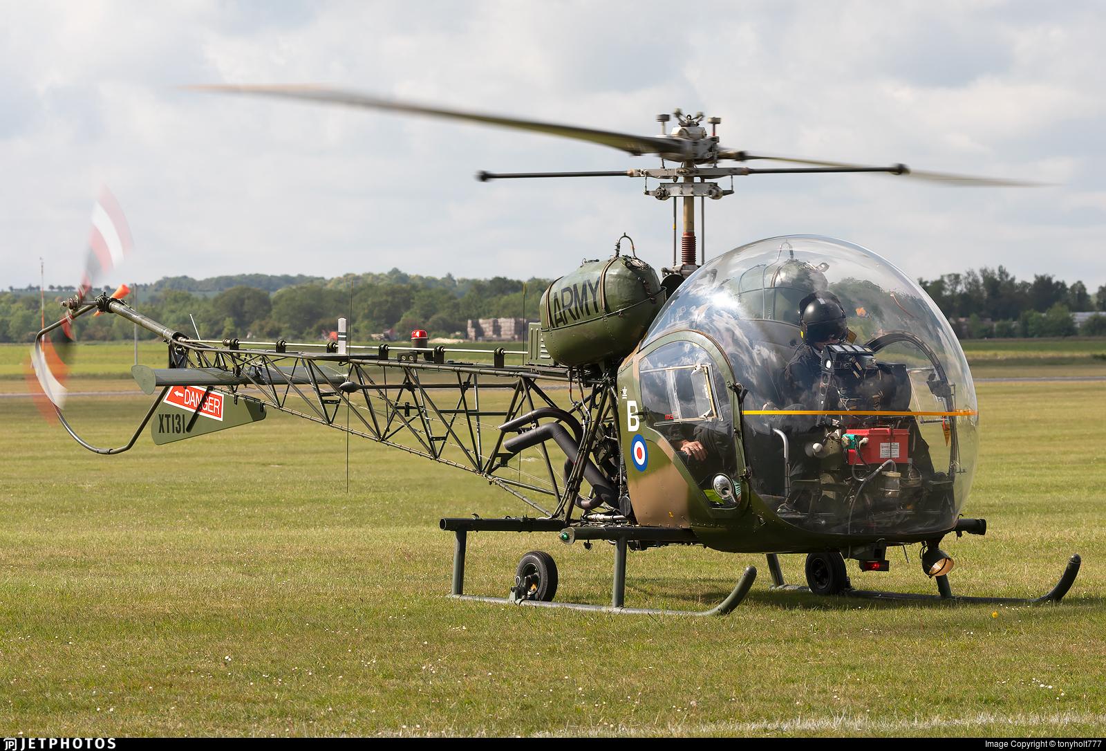 G-CICN - Agusta-Bell Sioux AH.1 - Historic Aircraft Flight Trust