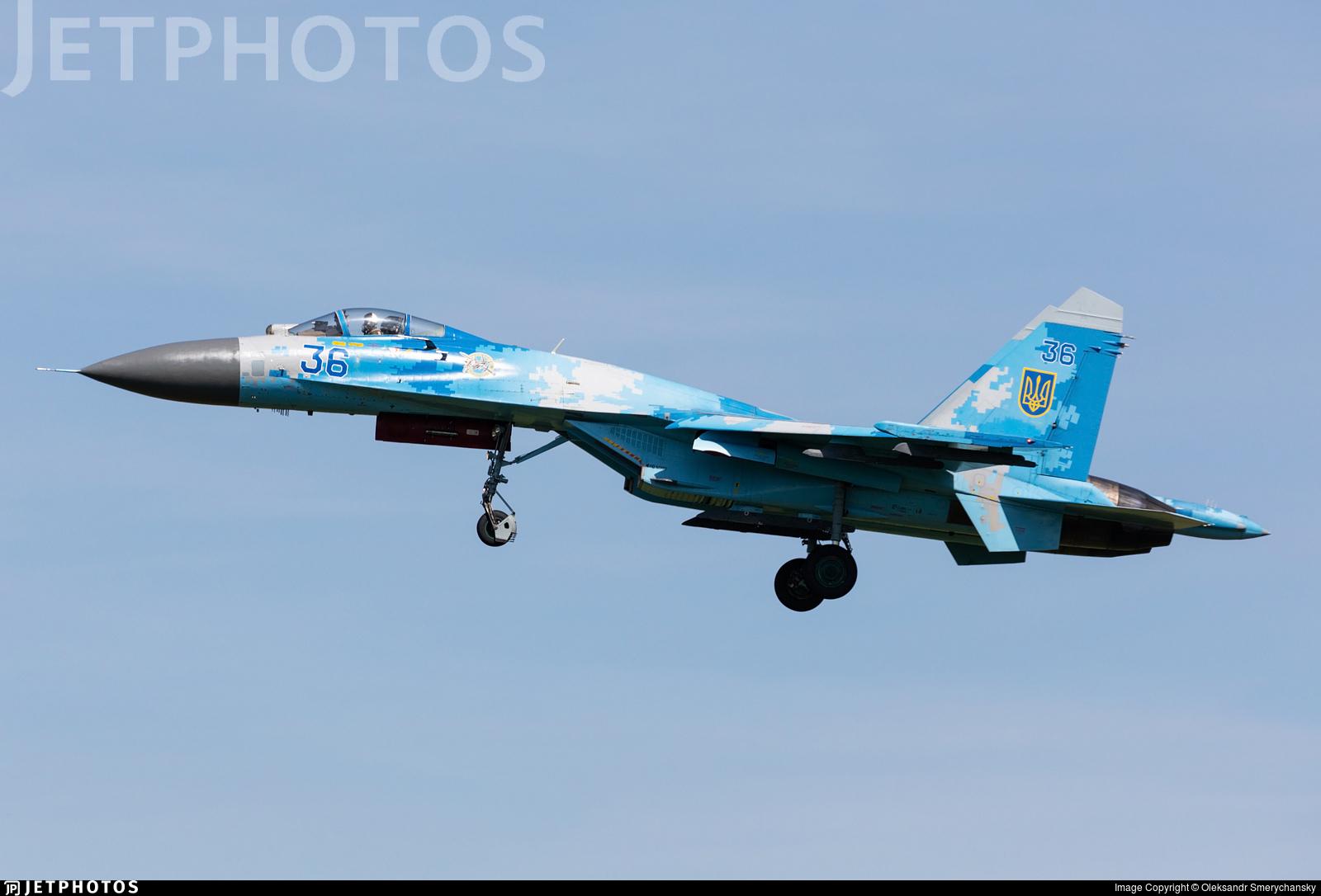 36 - Sukhoi Su-27 Flanker - Ukraine - Air Force