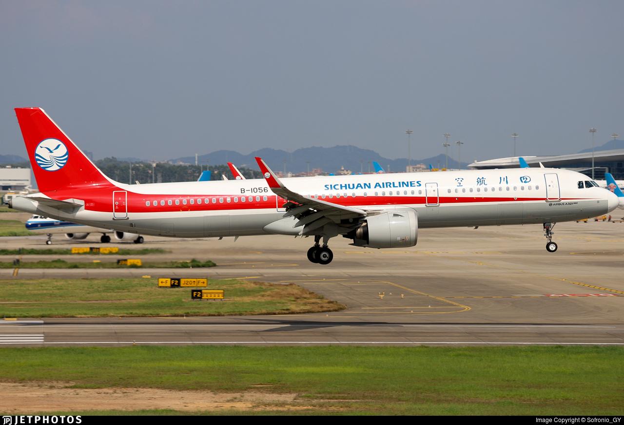 B-1056 - Airbus A321-271N - Sichuan Airlines