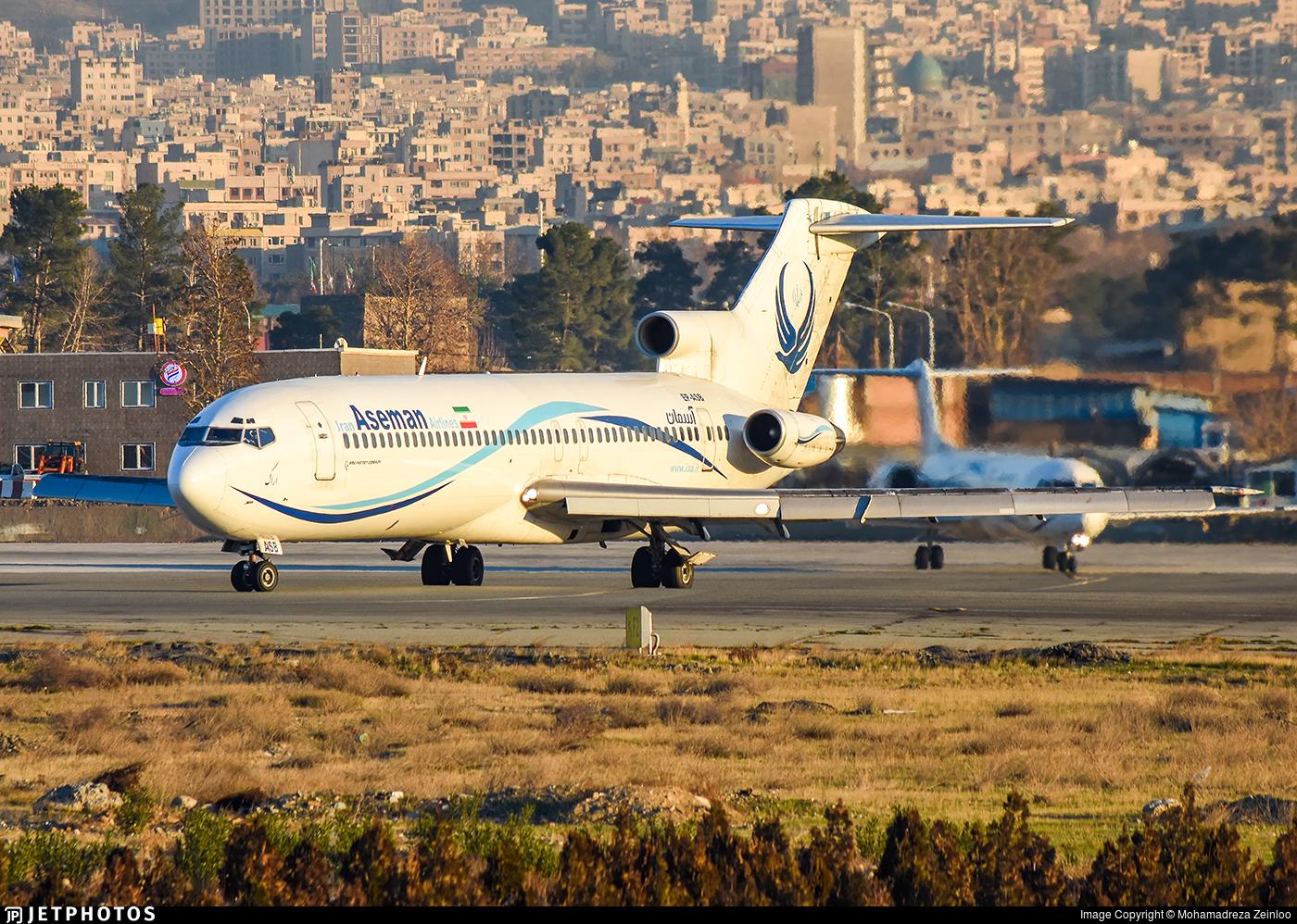 EP-ASB - Boeing 727-228(Adv) - Iran Aseman Airlines