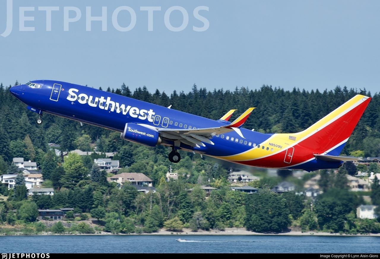N8509U - Boeing 737-8H4 - Southwest Airlines