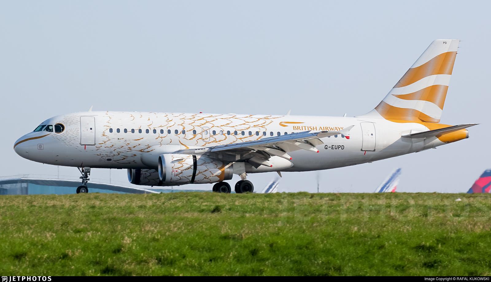 G-EUPD - Airbus A319-131 - British Airways