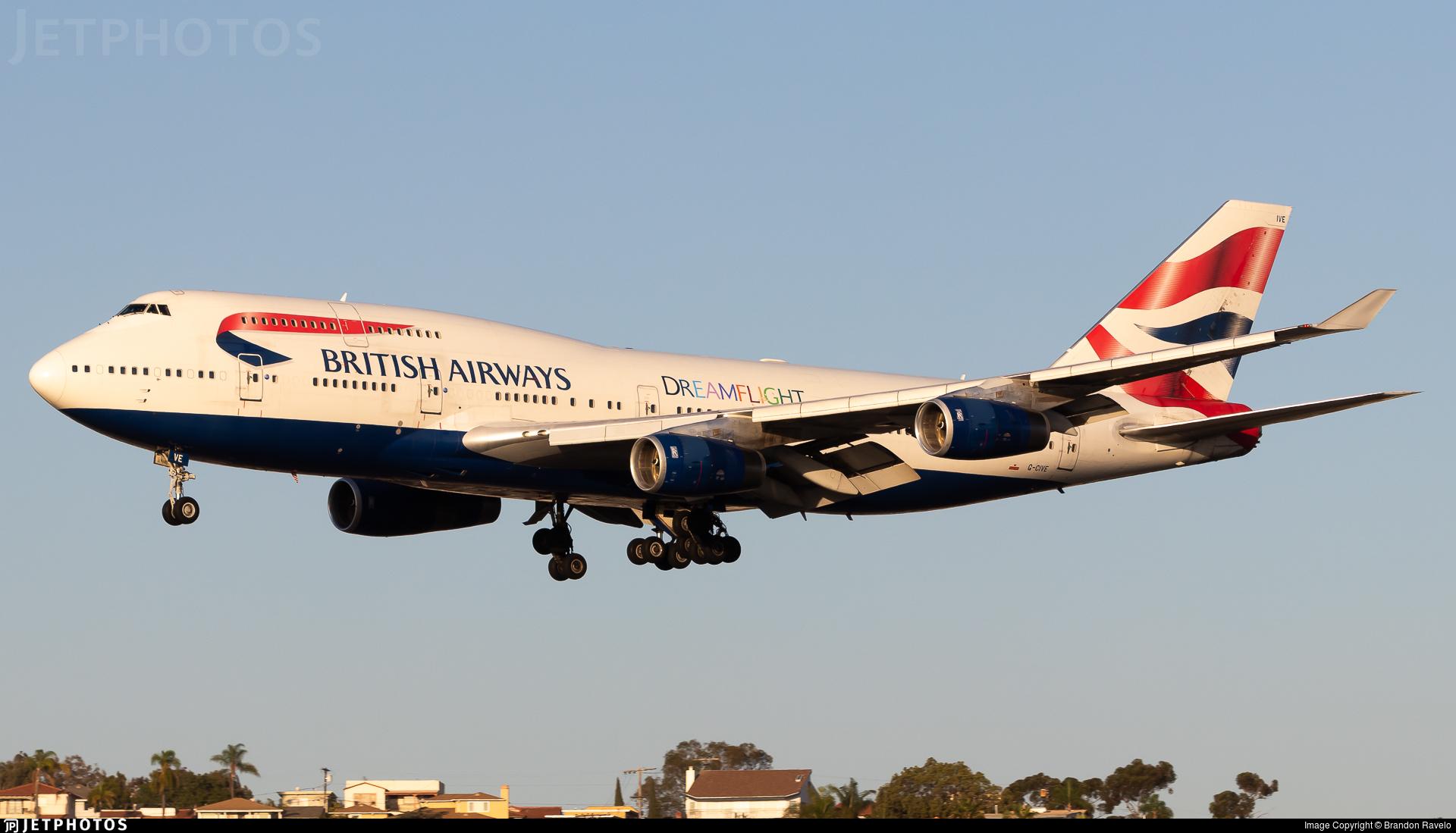 G-CIVE - Boeing 747-436 - British Airways