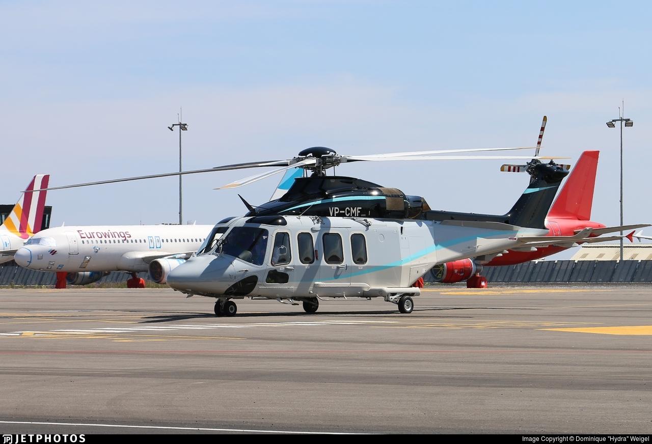 VP-CMF - Agusta-Westland AW-139 - Private