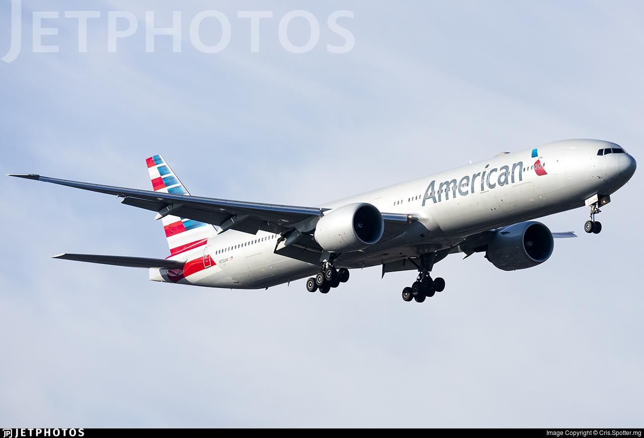 N732AN - Boeing 777-323ER - American Airlines