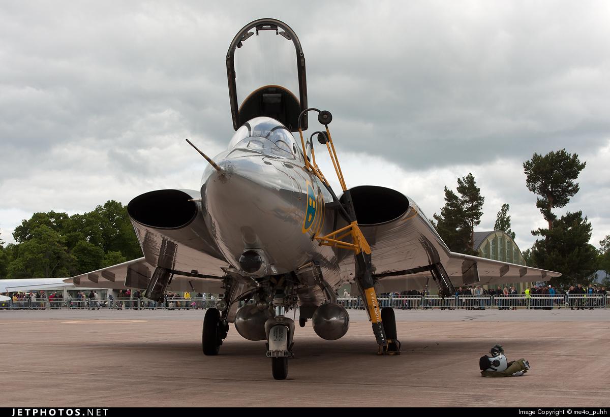 56 - Saab F-35 Draken - Sweden - Air Force