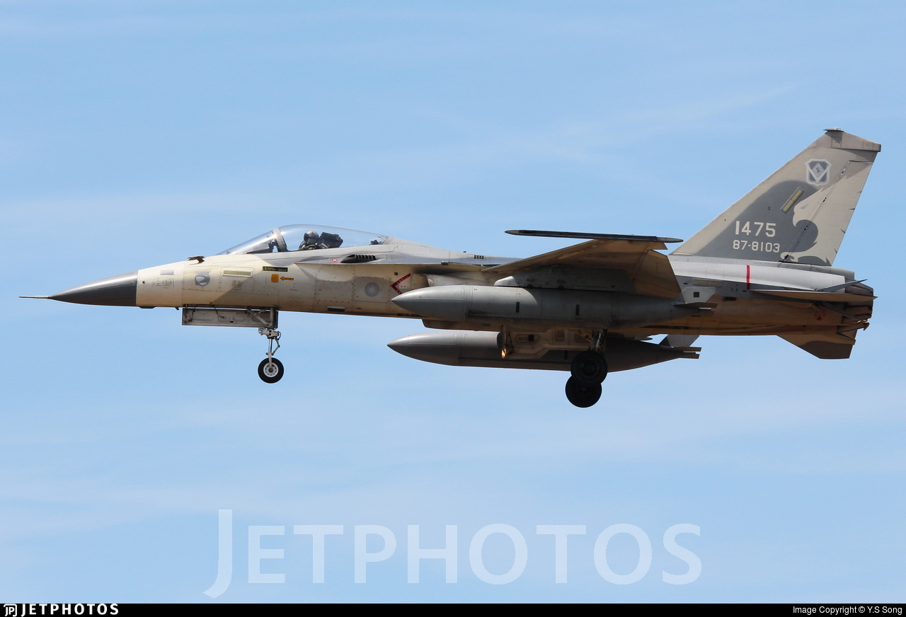 1475 - AIDC F-CK-1C Ching Kuo - Taiwan - Air Force