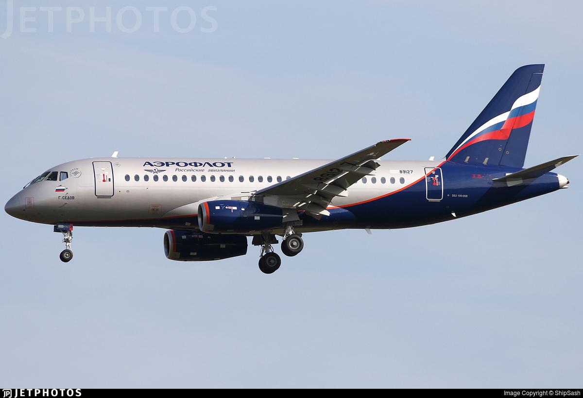RA-89127 - Sukhoi Superjet 100-95B - Aeroflot