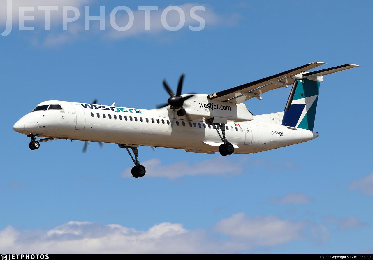 C-FHEN - Bombardier Dash 8-Q402 - WestJet Encore