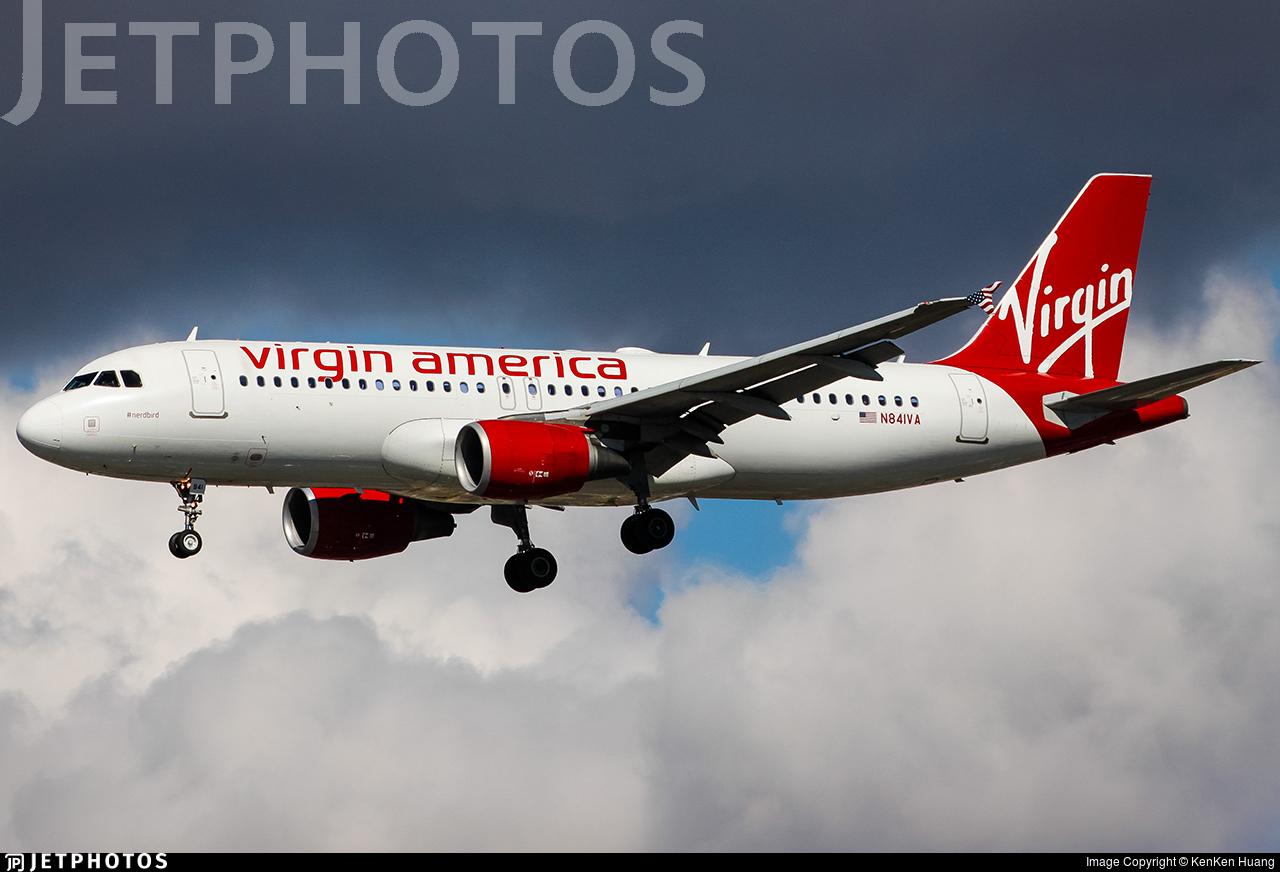 N841VA - Airbus A320-214 - Virgin America