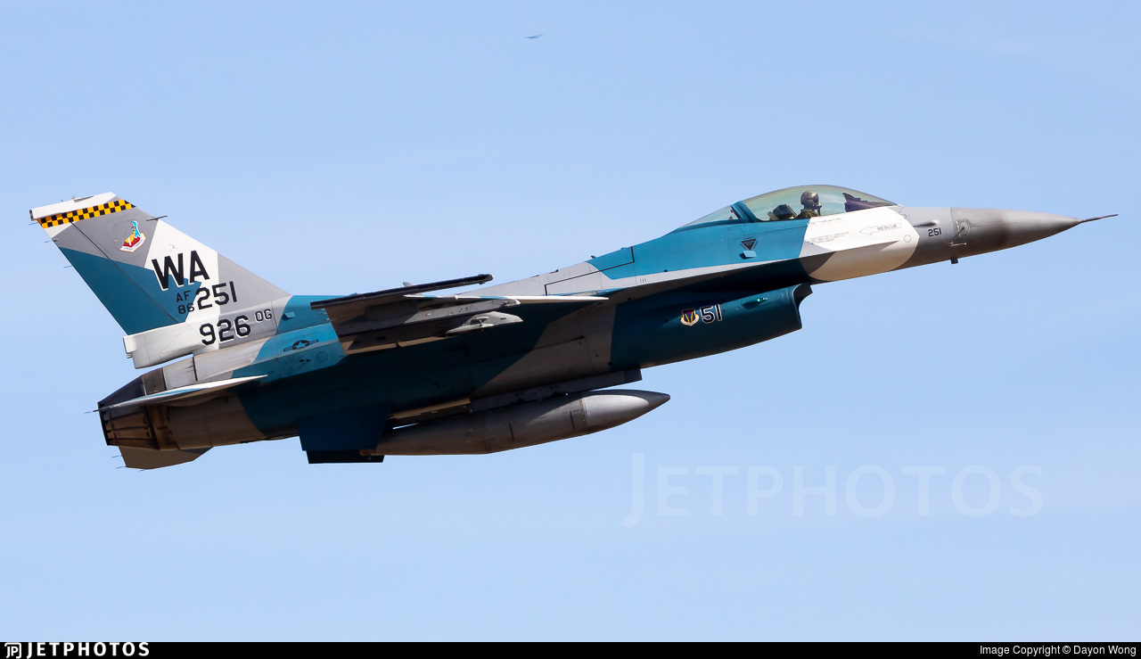 86-0251 - General Dynamics F-16C Fighting Falcon - United States - US Air Force (USAF)