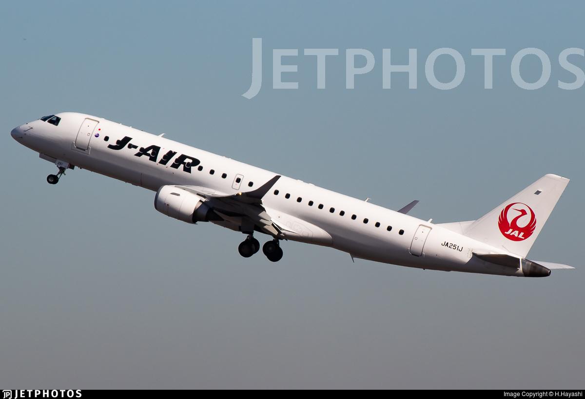 JA251J - Embraer 190-100STD - J-Air
