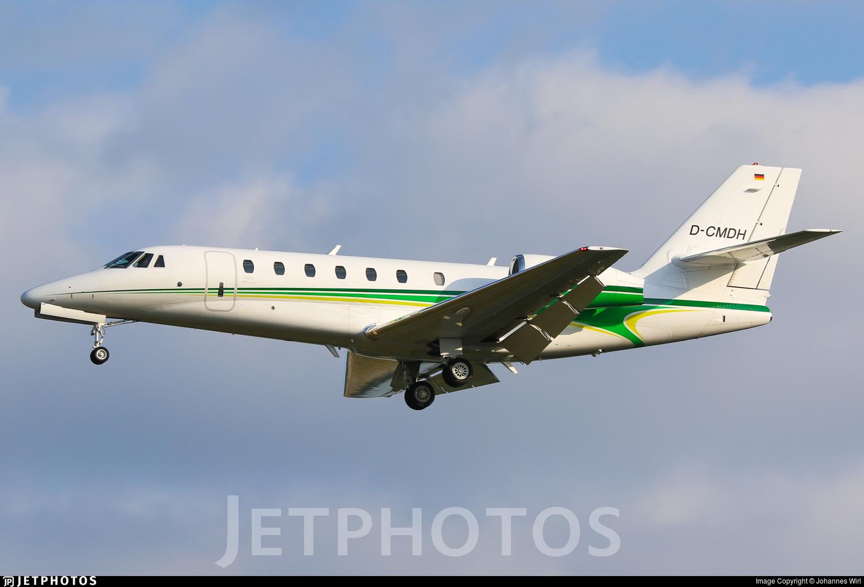 D-CMDH - Cessna 680 Citation Sovereign - E-Aviation