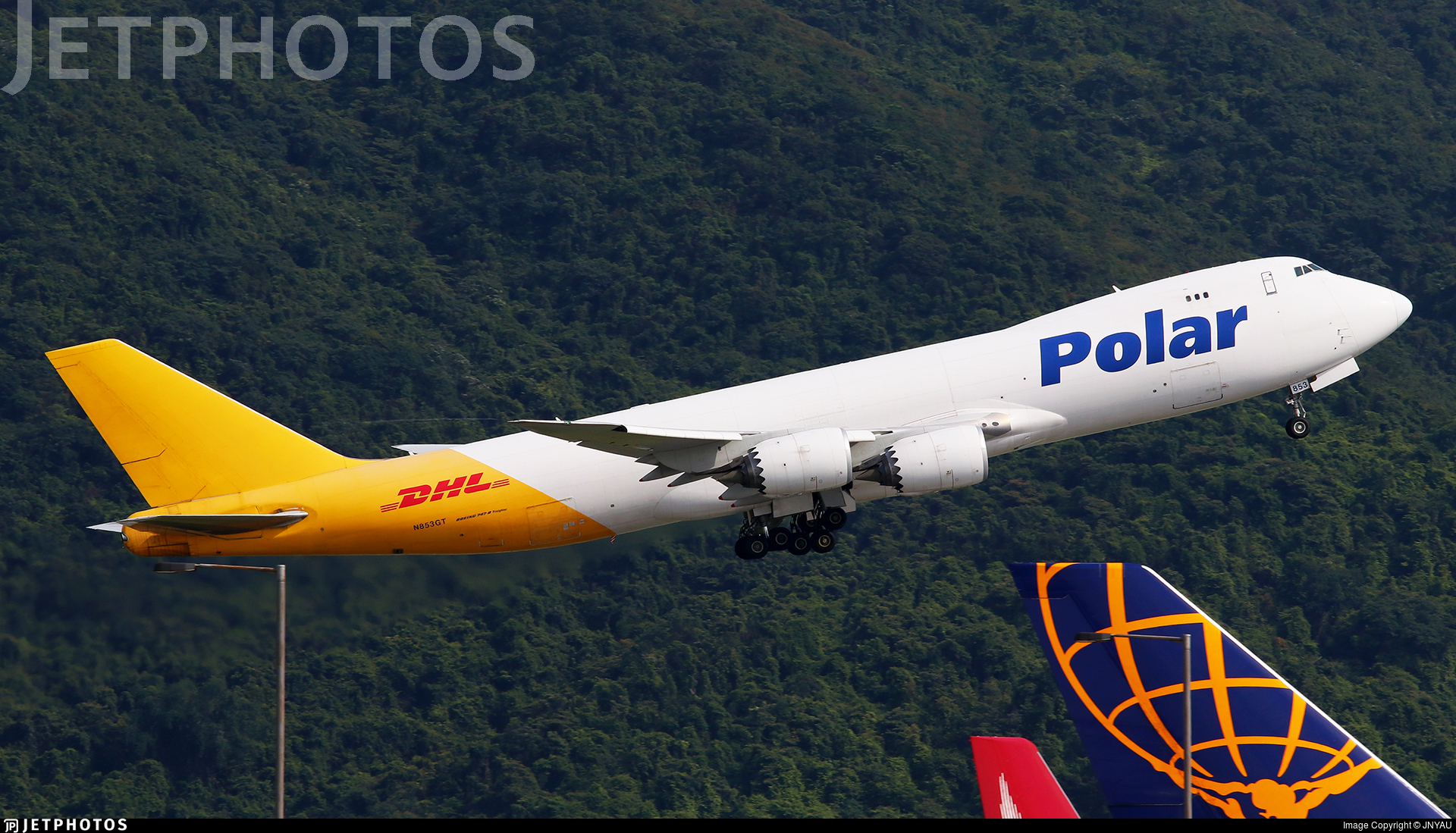 N853GT - Boeing 747-87UF - Polar Air Cargo