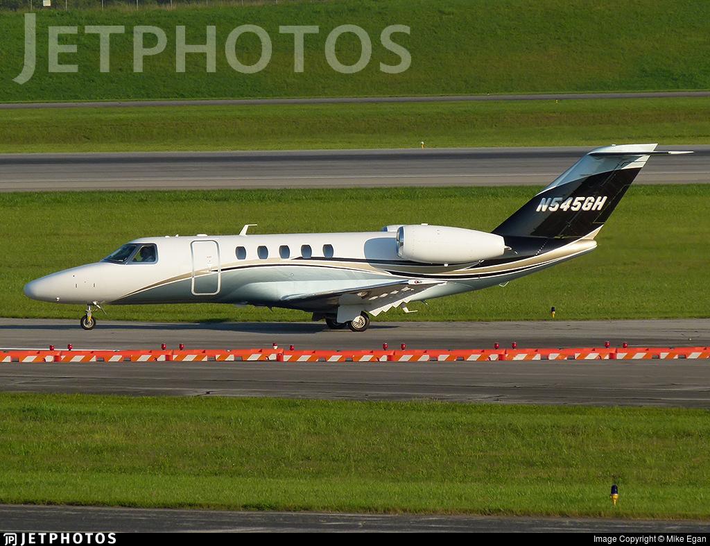 N545GH - Cessna 525 Citationjet CJ4 - Private