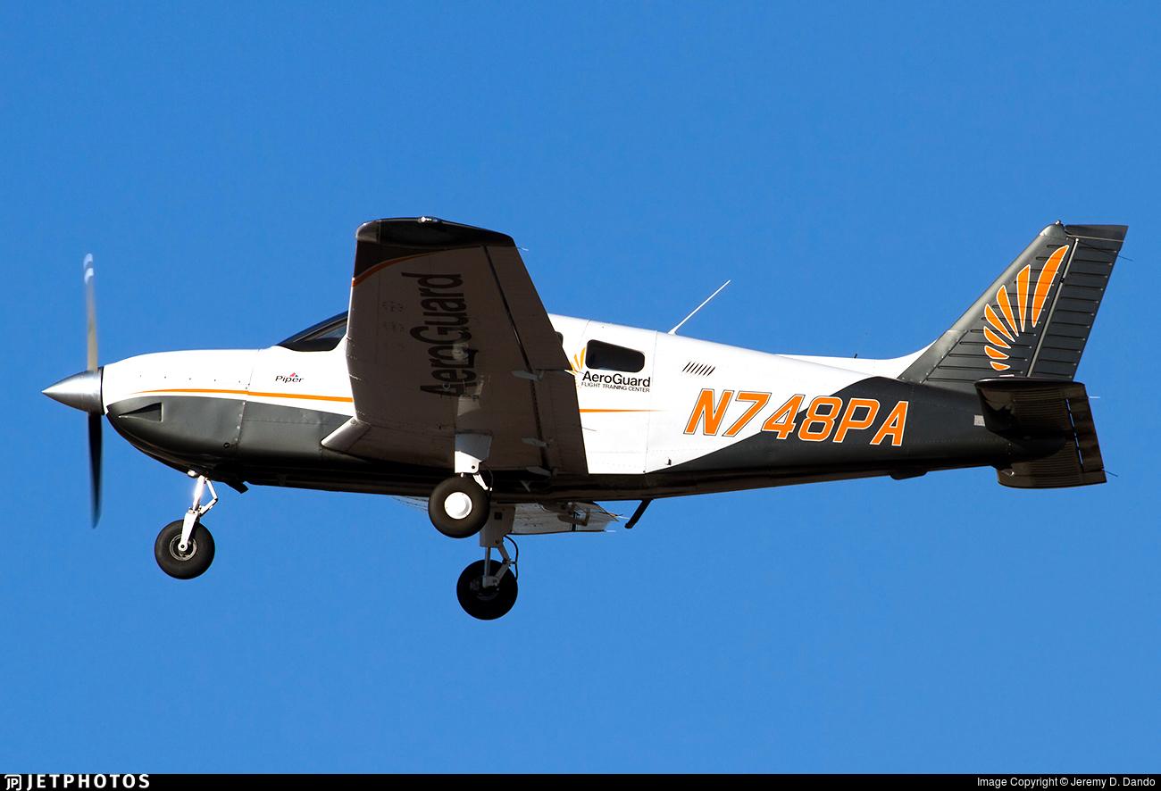 N748PA - Piper PA-28-181 Archer - AeroGuard Flight Training Center