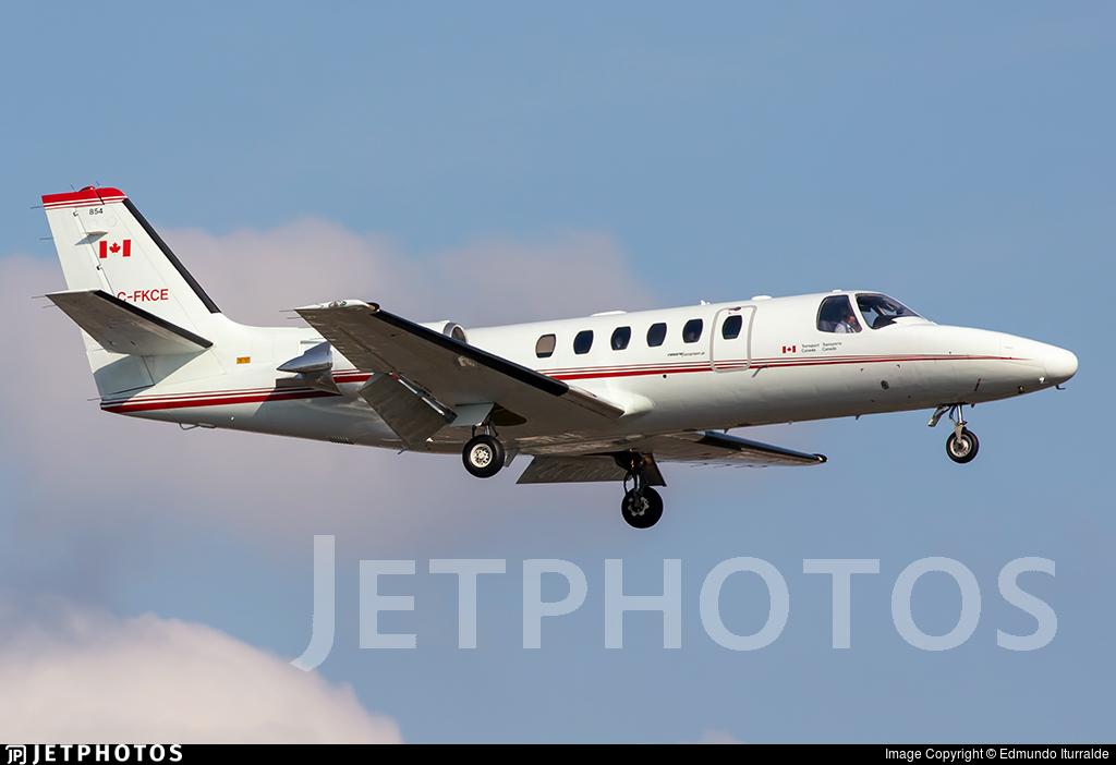 C-FKCE - Cessna 550 Citation II - Canada - Department of Transport