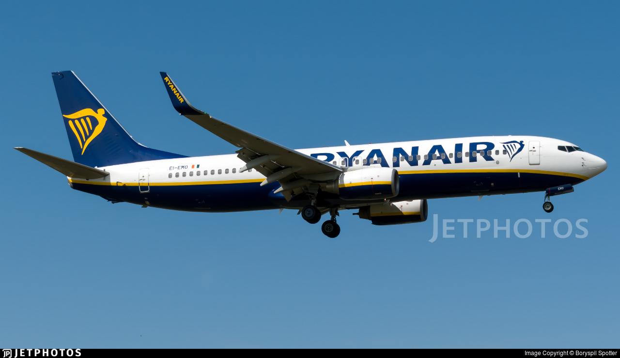 EI-EMO - Boeing 737-8AS - Ryanair