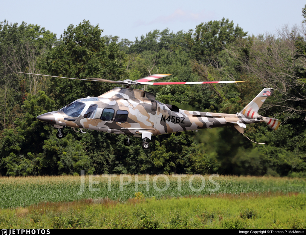 N45BZ - Agusta-Westland AW-109SP GrandNew - Private