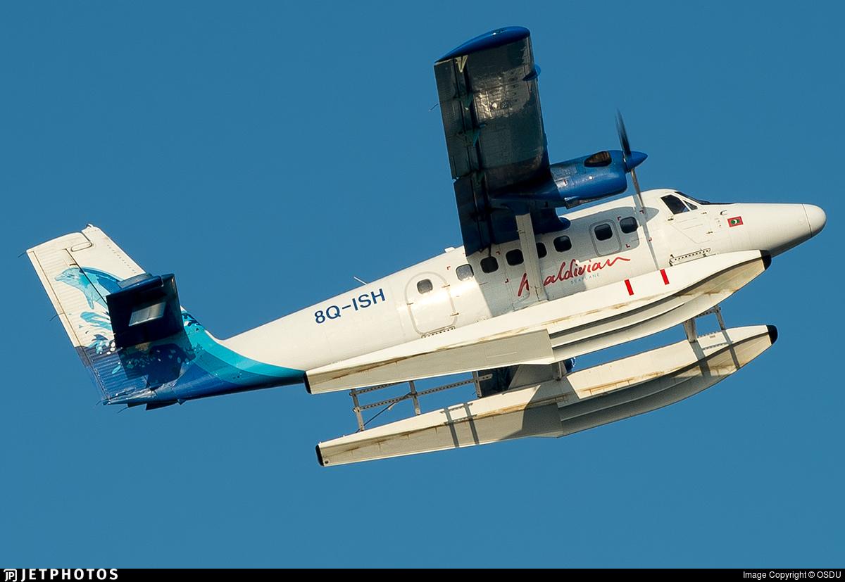 8Q-ISH - De Havilland Canada DHC-6-300 Twin Otter - Maldivian