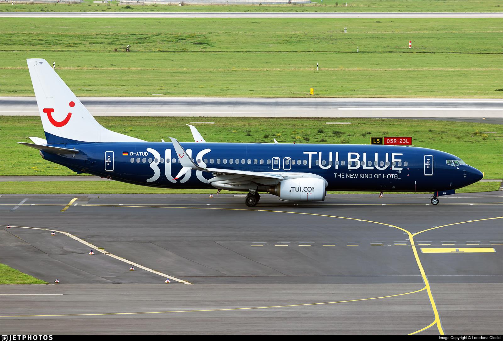 D-ATUD - Boeing 737-8K5 - TUIfly