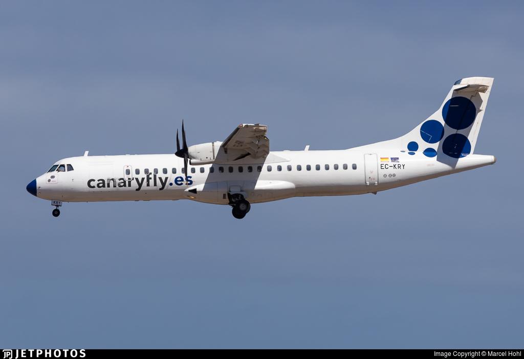 EC-KRY - ATR 72-212A(500) - Canaryfly