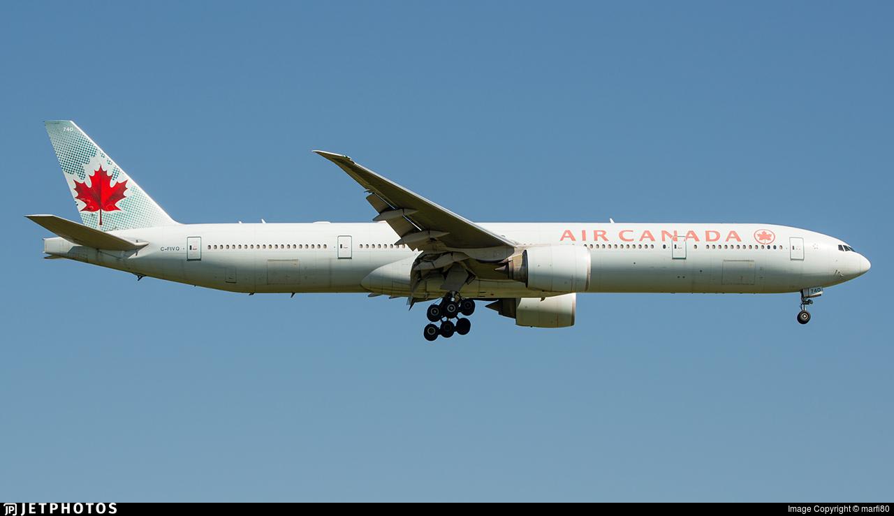 C-FIVQ - Boeing 777-333ER - Air Canada