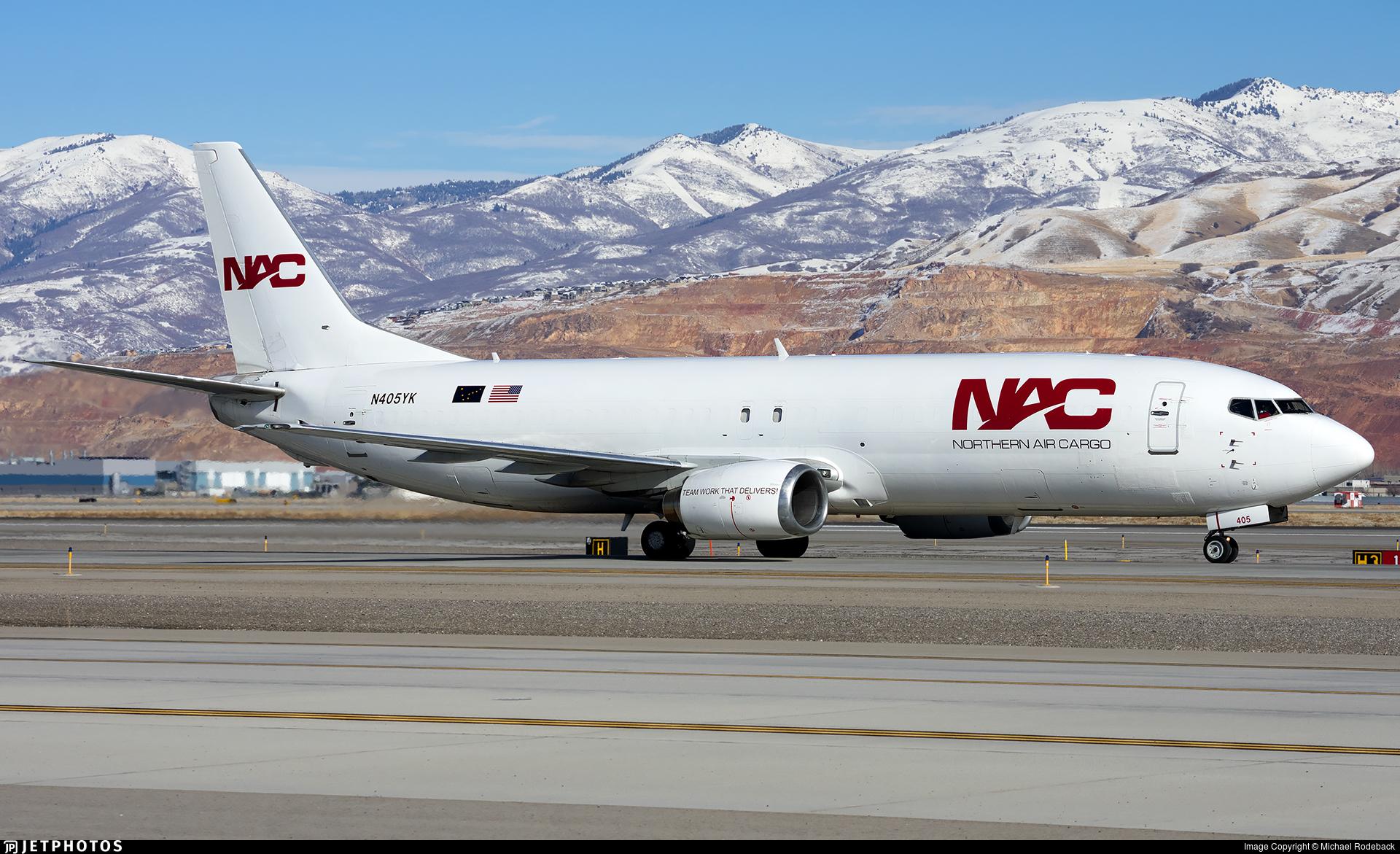 N405YK - Boeing 737-436(SF) - Northern Air Cargo (NAC)