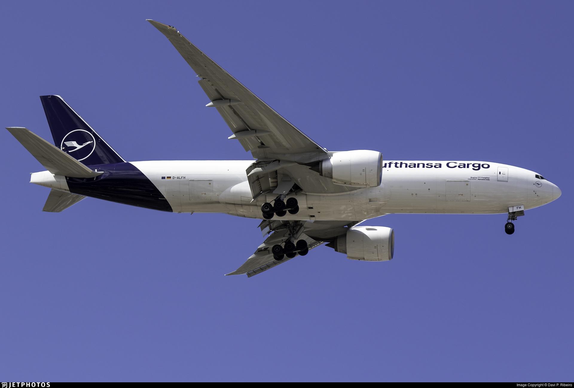 D-ALFH - Boeing 777-FBT - Lufthansa Cargo