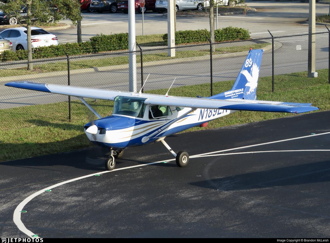 N189ER - Cessna 150M - Embry-Riddle Aeronautical University (ERAU)