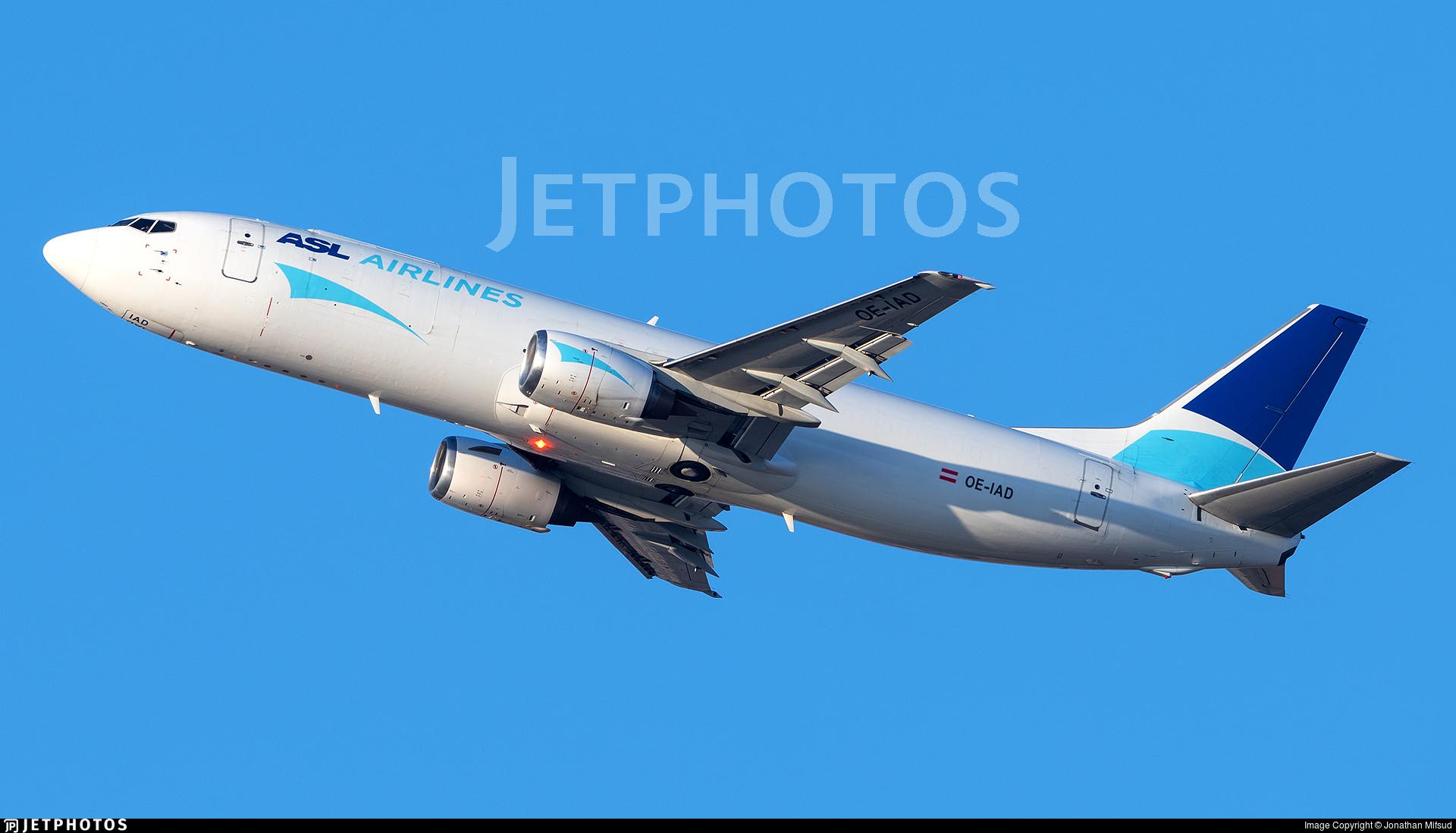 OE-IAD - Boeing 737-4M0(SF) - ASL Airlines