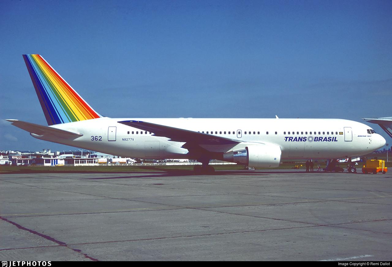 N8277V - Boeing 767-2Q4 - TransBrasil