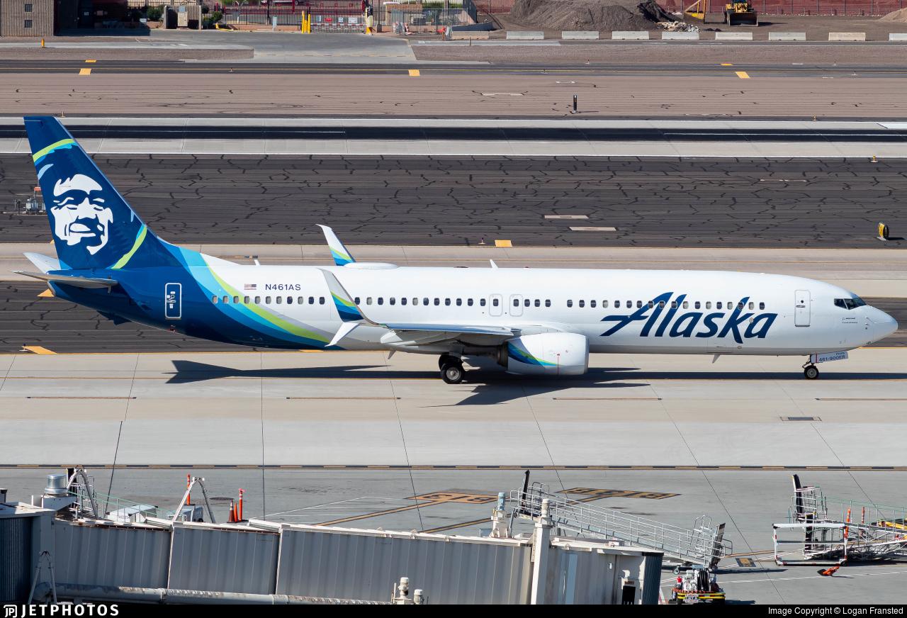 N461AS - Boeing 737-990ER - Alaska Airlines